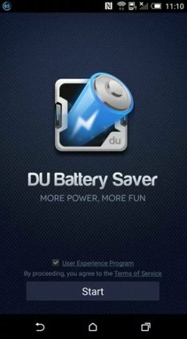 DU Battery Saver Android Mobile App