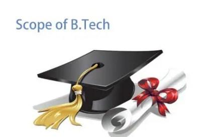Scope of B.Tech