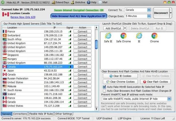 Hide All IP Software