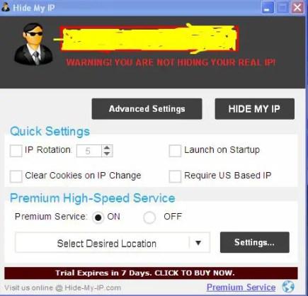 Hide My IP Software