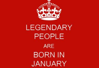 People Born In January