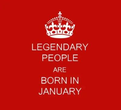 People Born In January