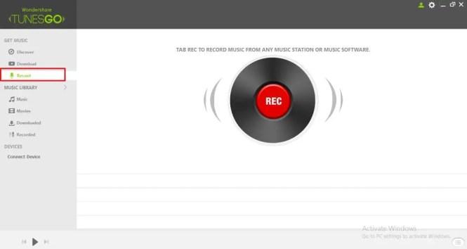 Record music & Playlist