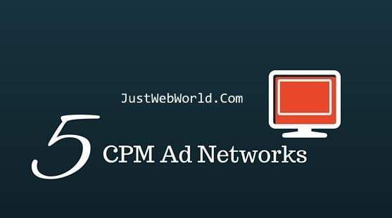 Top 5 High Paying CPM Ad Networks for Your Blog