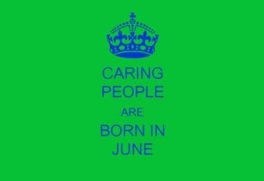 People Born In June