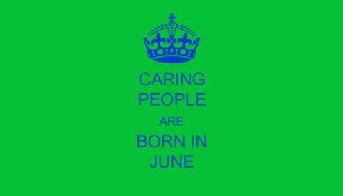People Born In June