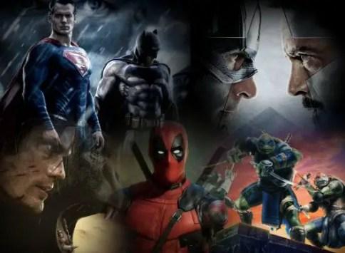 Superhero Movies 2016
