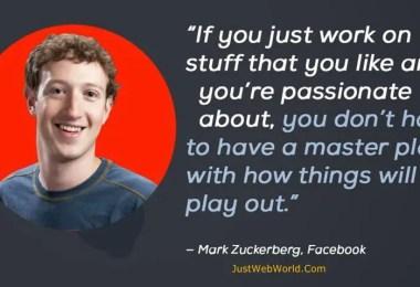 Successful Entrepreneur Mark Zuckerberg