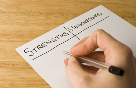 Identifying Your Weakness Is Key