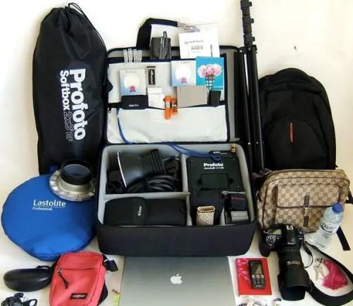 Portable flash kit