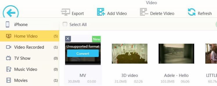 Transfer& Convert Videos Intelligently
