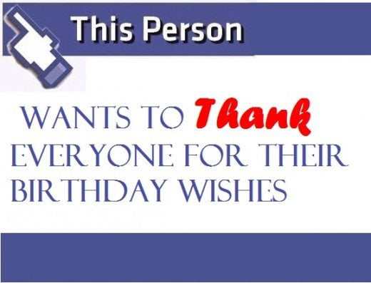 thank you message for birthday wishes on facebook
