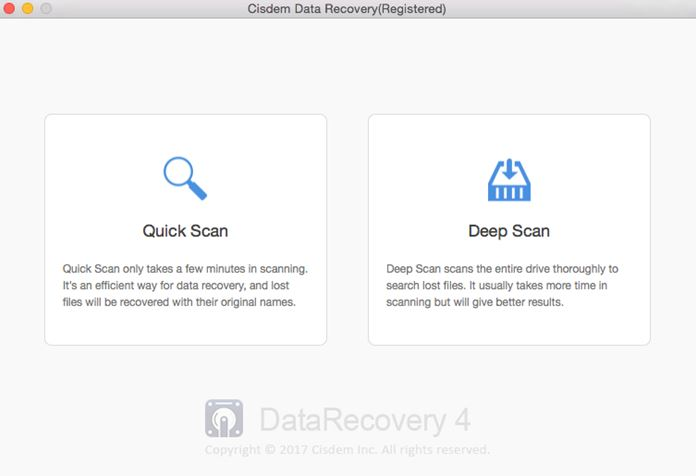 Data recovery software for Mac