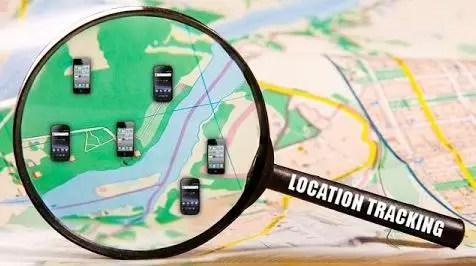 GPS location tracking