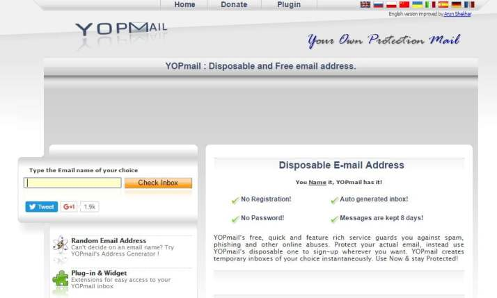 Top 10 Fake Email Generator Sites Online (Temporary Email