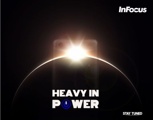 Powerful battery Infocus M5