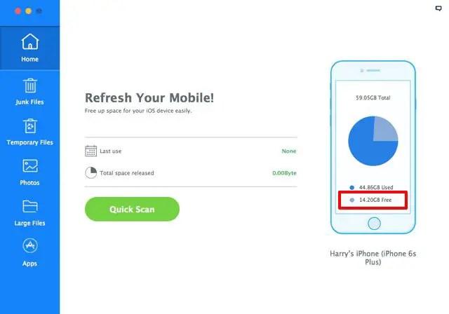 iMyFone Umate, World's No.1 iPhone Memory Cleaner