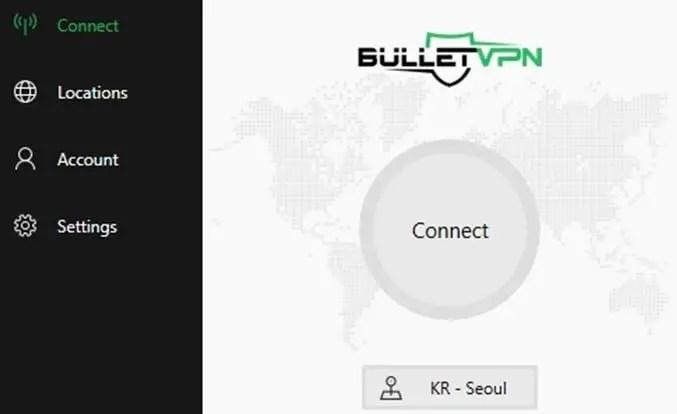 BulletVPN Home