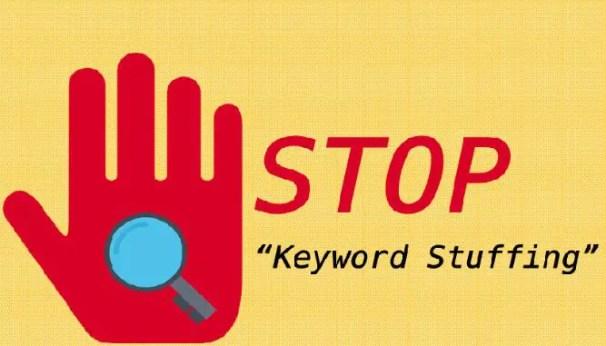 Never do Keyword Stuffing