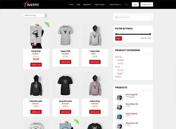 JustFit - Responsive Health WordPress Theme