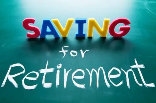Savings for retirement - EPF