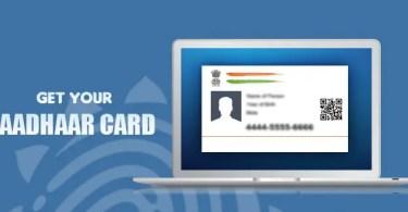 How To Apply For Aadhaar Card Procedure