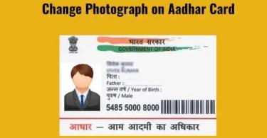 How to Change Aadhar Card Photo