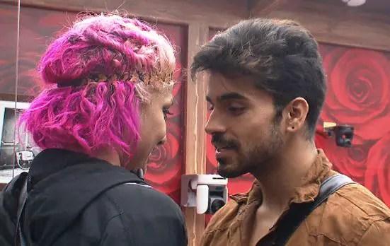 Diandra Soares Kissing Gautam Gulati