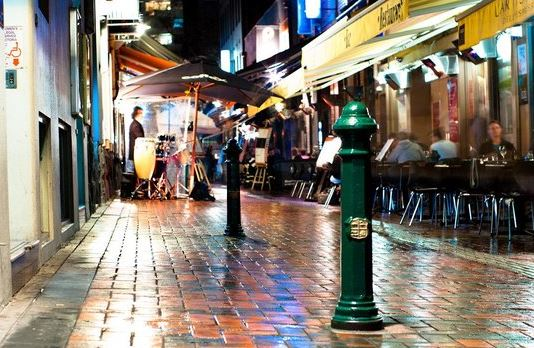 Hardware Lane - Street in the City of Melbourne, Victoria