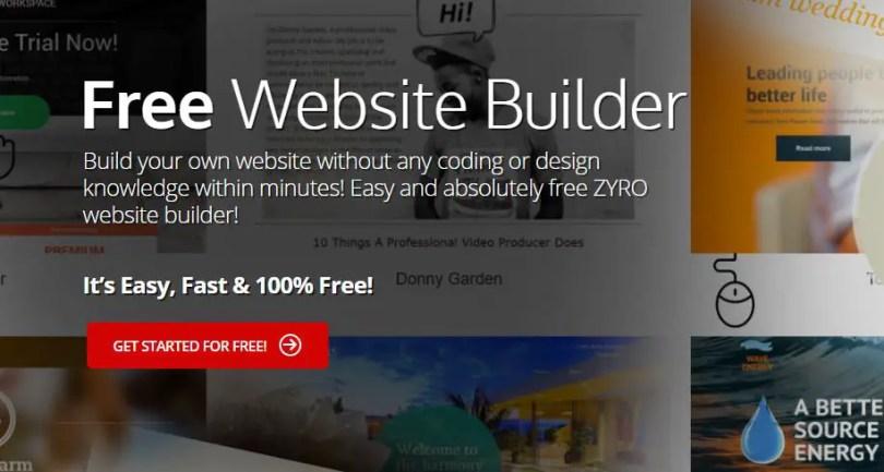 Free site builder