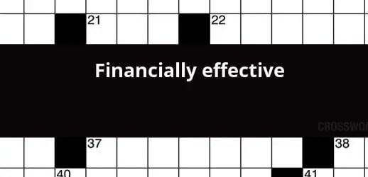 (Financially) Effective