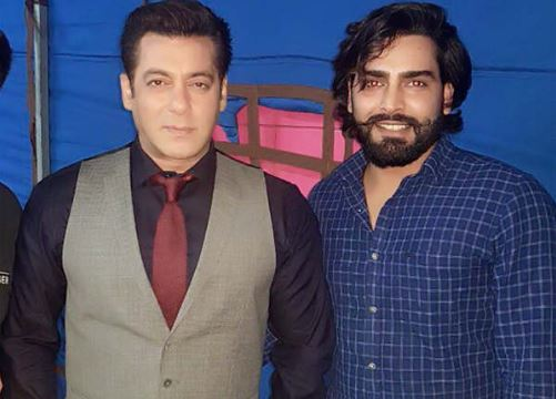 Manveer Gurjar With Salman Khan