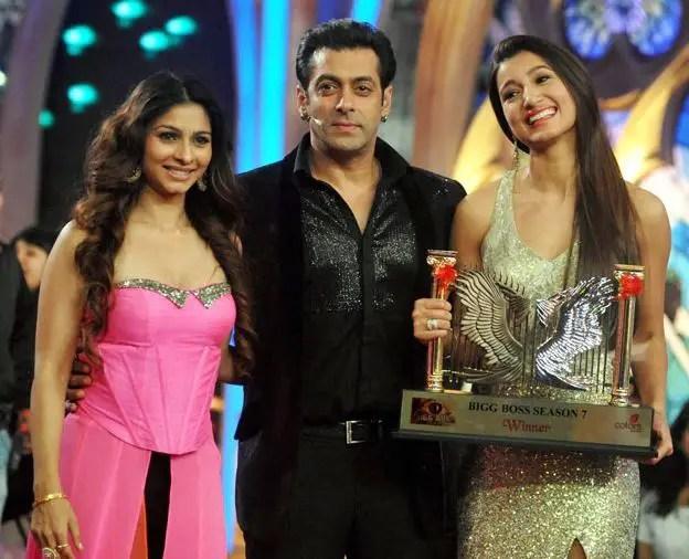 Bigg Boss 7 Winner Gauhar Khan Winning Moment