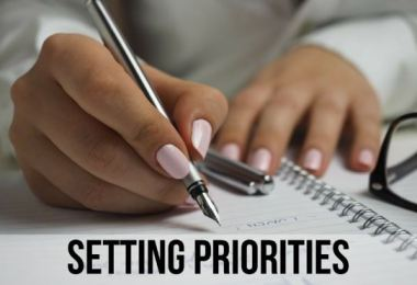 Setting The Priorities