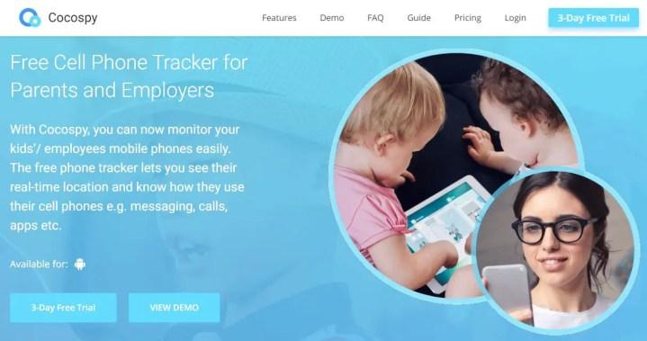 Cocospy - Free Phone Tracker
