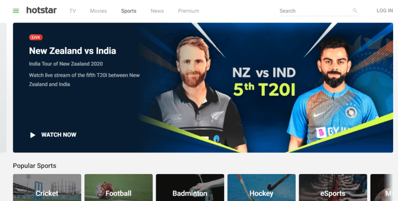 Hotstar - Live Cricket Match Streaming