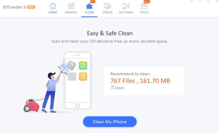IOTransfer 3 Pro - iPhone Manager