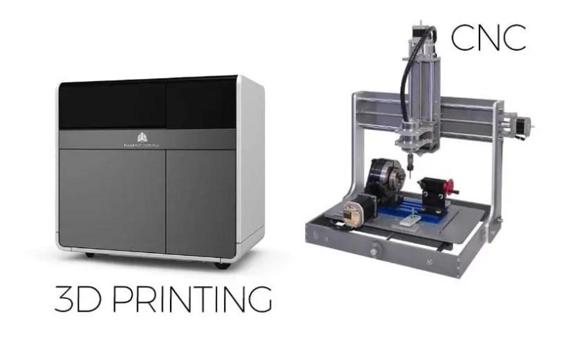 3D Printing vs CNC: Explained