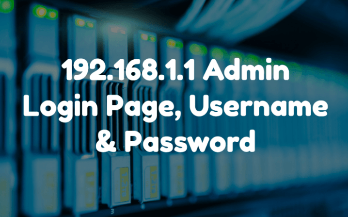192.168.1.1 Default Router IP Address