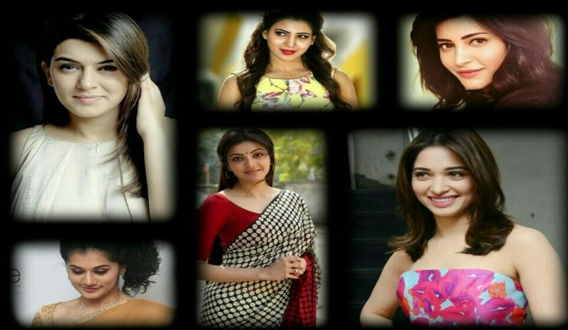Most Beautiful South Indian Film Actresses
