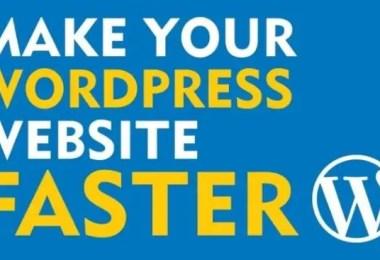 Speed Up WordPress Performance