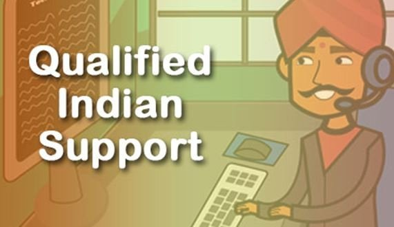 Qualified Local Indian support