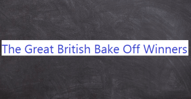 The Great British Bake Off Winners List