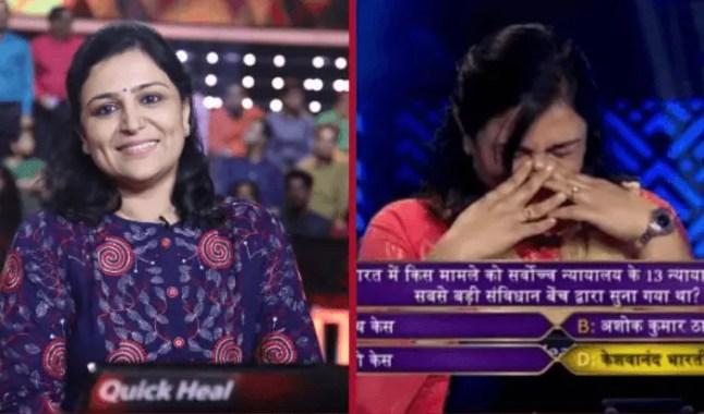 KBC 10's First Crorepati Binita Jain