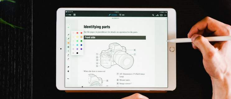 iPad for teaching