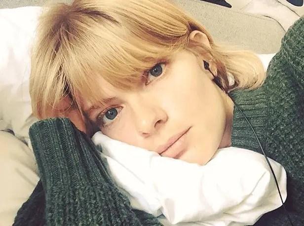 Julia Stegner - German model