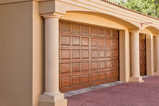 Real-Estate Garage Door