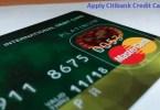 Apply Citibank Credit Card Online