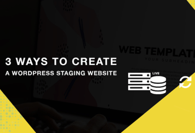 Create A Wordpress Staging Website