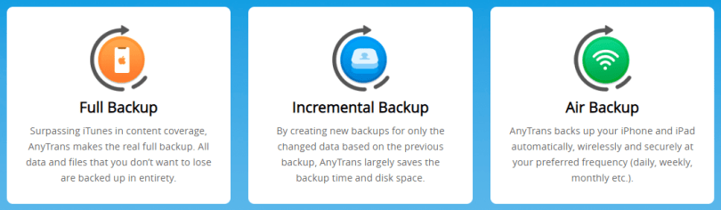 Comprehensive Backup Manager
